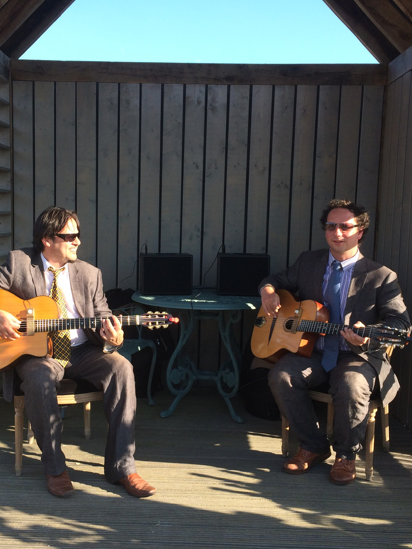 Jonny Hepbir Gypsy Jazz Guitar Duo