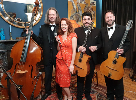 2020 London Wedding Band Hire | Parisian Swing Band
