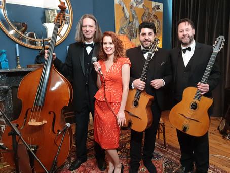 2020 London Wedding Band Hire | Parisian Swing Band