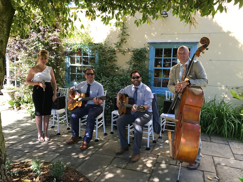 Jonny Hepbir Quartet At A Wedding In Cambridgeshire