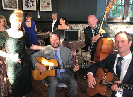 Wedding Band Hire | Jonny Hepbir Gypsy Jazz Quartet In Knutsford Cheshire