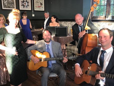 Wedding Band Hire | Jonny Hepbir Gypsy Jazz Quartet In Knutsford Cheshire