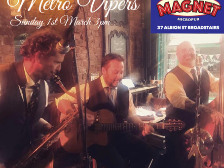 Swing Jazz Band Hire In Kent | Metro Vipers In Ramsgate & Broadstairs