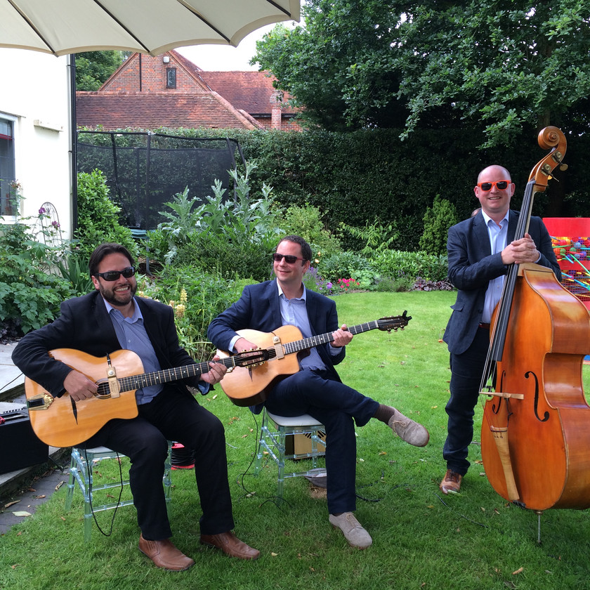 Jonny Hepbir Trio At A Wedding In West Sussex