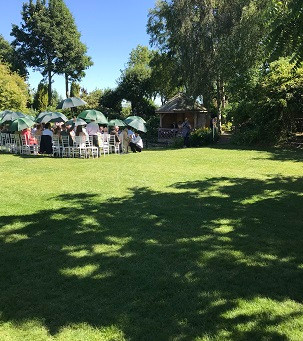 Swinging Summer Wedding Celebration With The Jonny Hepbir Quartet At South Farm In Cambridgeshire