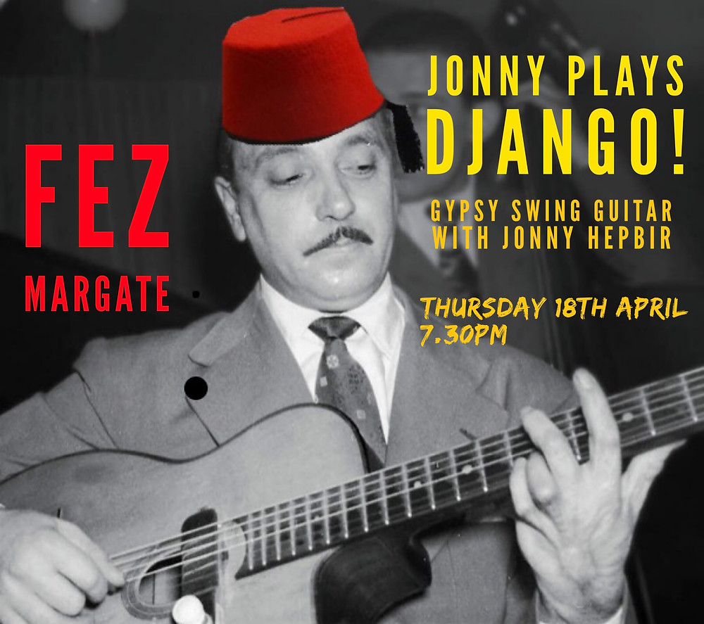 Jonny Hepbir Solo Gypsy Jazz Guitar At Fez Micropub In Margate Kent