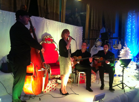 Christmas Party Band Hire | Jazz Bands For events, Weddings, Parties & Corporate Functions