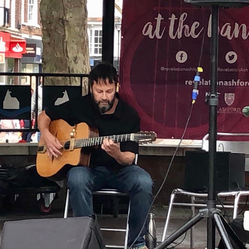 Jonny Hepbir Solo Gypsy Jazz Guitarist At Revelation Ashford In Kent