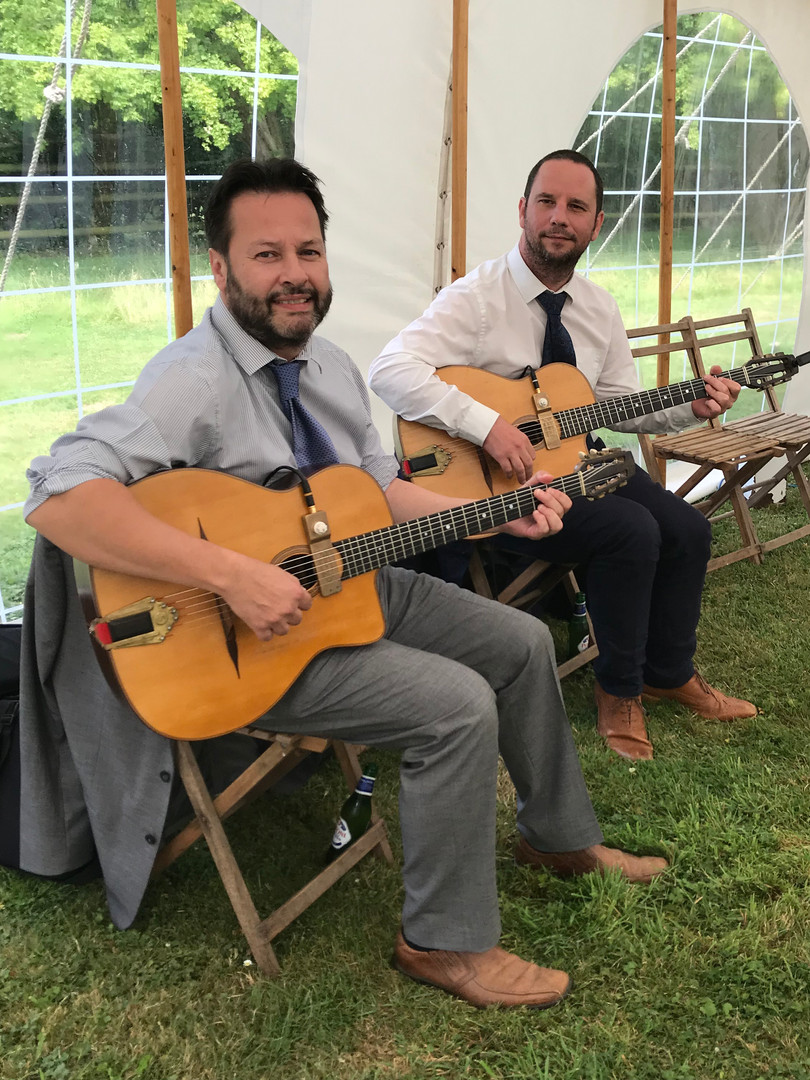 Jonny Hepbir Gypsy Jazz Duo