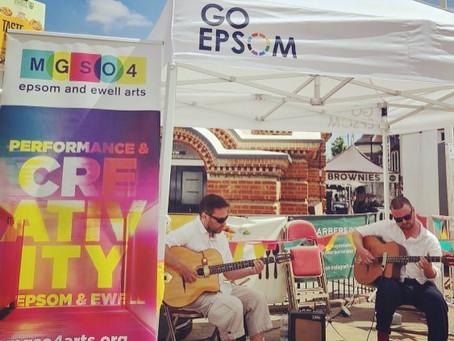 Jonny Hepbir Guitar Duo At Epsom Market Place | Hire The Jonny Hepbir Duo For An Event In Surrey