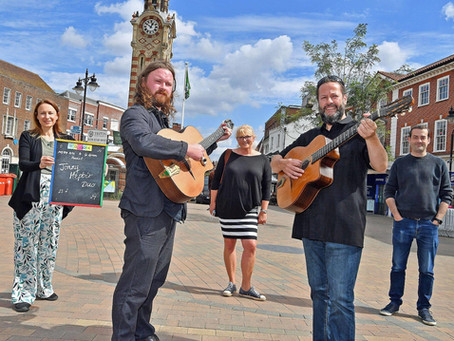 Jonny Hepbir Gypsy Jazz Guitar Duo Available To Hire | Jonny Hepbir Interview On BBC Radio Surrey