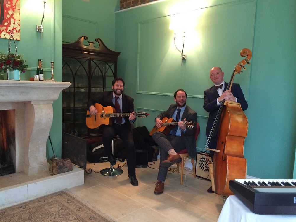 The Jonny Hepbir Trio At A Christmas Party In Oxfordshire