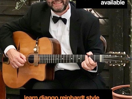 Learn Gypsy Jazz Guitar At Home | Skype & FaceTime Lessons With Jonny Hepbir