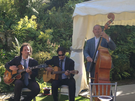 Jazz Music For Small Weddings & Events | Jonny Hepbir Jazz Band Hire In Sussex