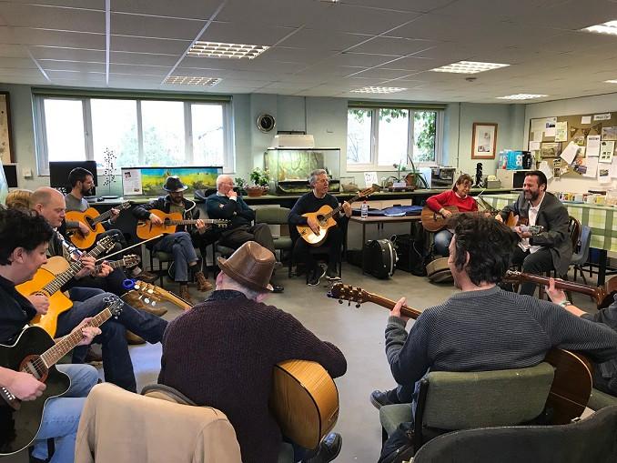 Jonny Hepbir Gypsy Jazz Guitar Workshop