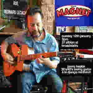 Jonny Hepbir Solo Gypsy Jazz Guitar At The Magnet In Broadstairs Kent