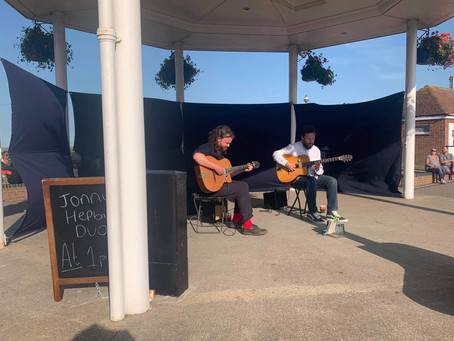 Hire The Jonny Hepbir Gypsy Jazz Duo For An Event In Kent | Jonny Hepbir Duo Play In Broadstairs