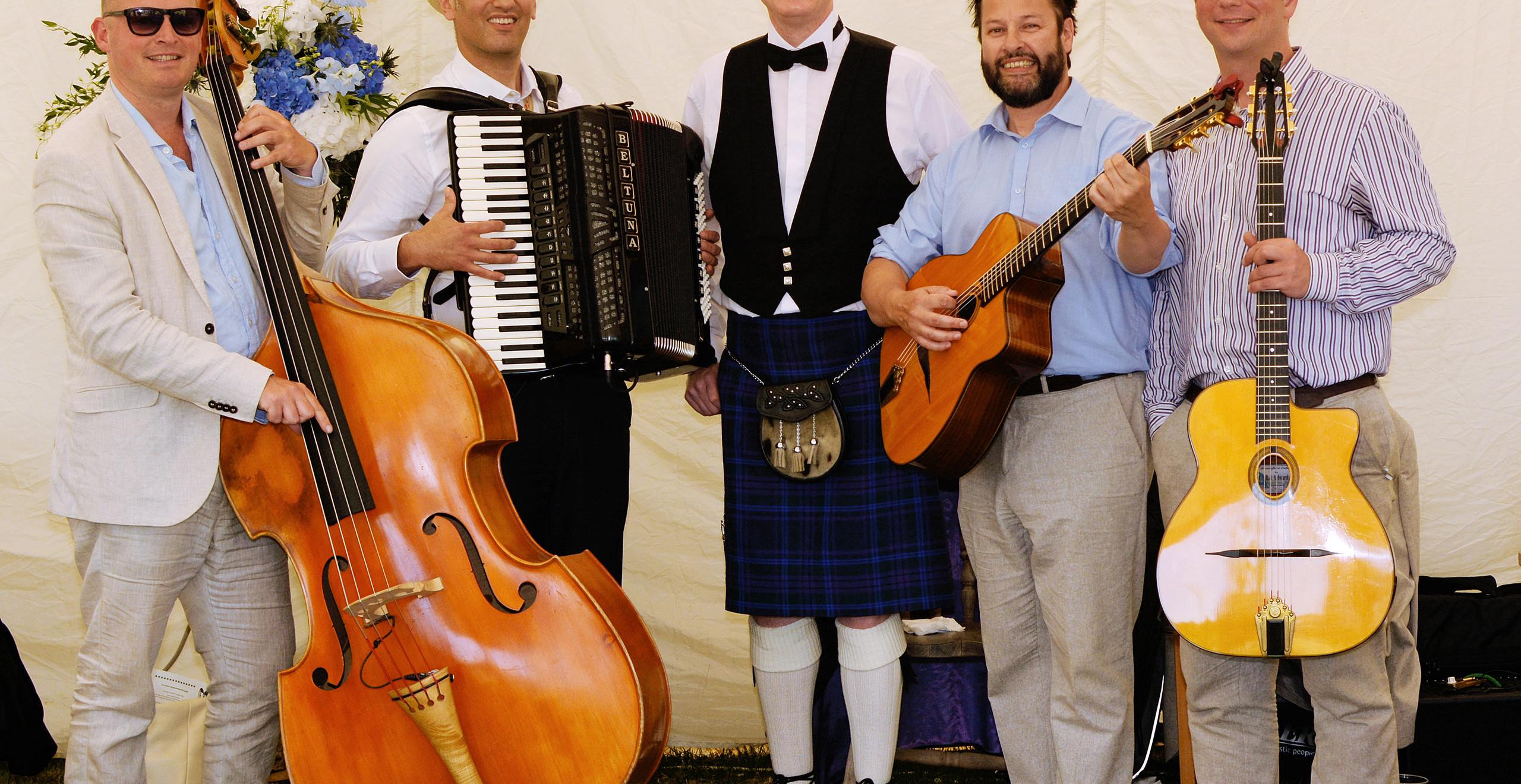 Jonny Hepbir Gypsy Jazz Band Hire In Brighton & Sussex
