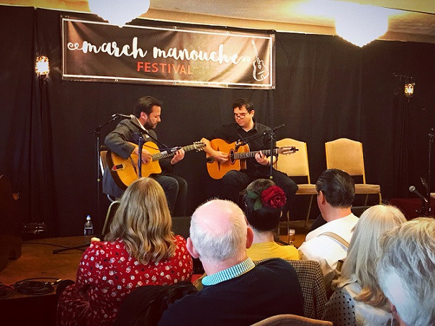 Jonny Hepbir Gypsy Jazz Guitarist At March Manouche Festival 2018