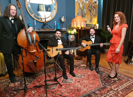 London Gypsy Jazz Band Hire | Parisian Swing Band