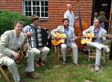 West Sussex Jazz Band Hire | Jonny Hepbir Quintet At A Birthday Party Celebration In Midhurst