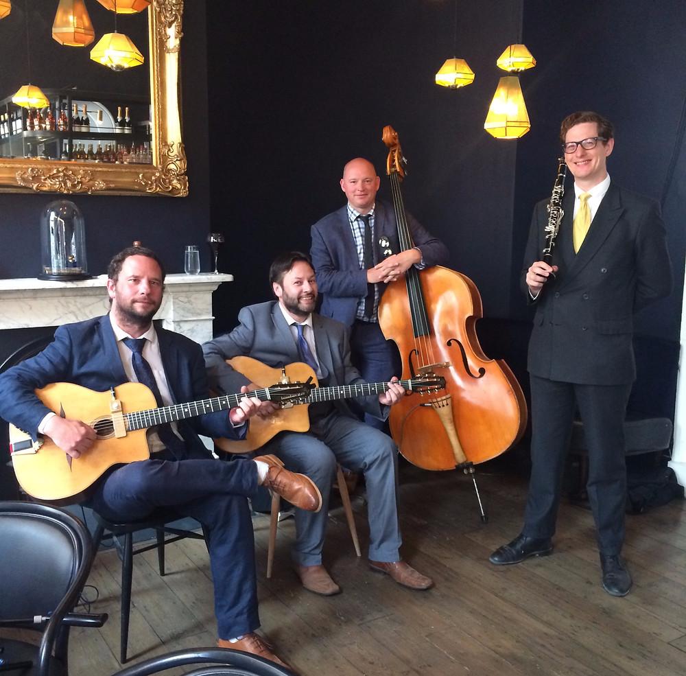 Jonny Hepbir Gypsy Jazz Quartet