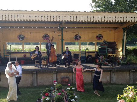 Wedding 2021 & 2022 Swing Band Hire | Jonny Hepbir Trio Available To Hire In Kent & Sussex