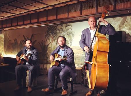Jonny Hepbir Gypsy Jazz Trio Live At The Oriole Bar In London