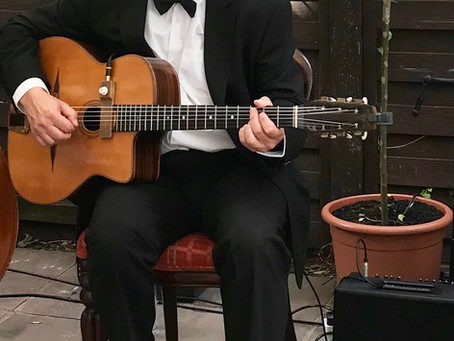 Book A Solo Guitarist For An Event In Sussex | Jonny Hepbir Gypsy Jazz Guitar