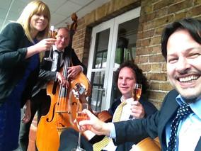 Jonny Hepbir Gypsy Jazz Quartet with Voc