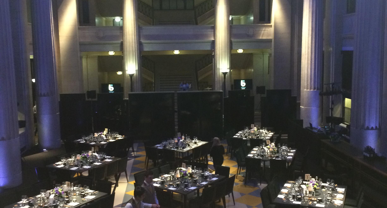 Jonny Hepbir Trio And Quartet Play An Award Ceremony At Banking Hall London
