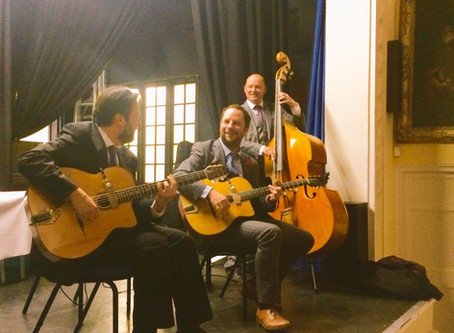 Hire A Gypsy Jazz Band In West Sussex | Jonny Hepbir Trio