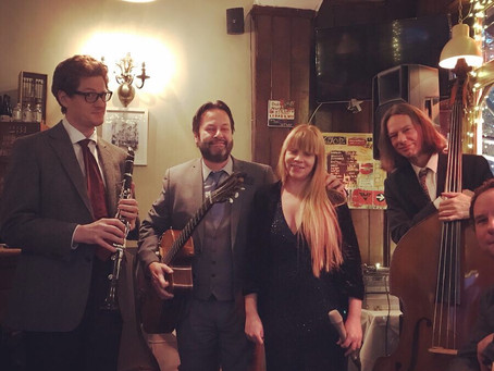 Wedding Band Hire In London | Jonny Hepbir Gypsy Jazz Quintet At Franklins Restaurant Dulwich