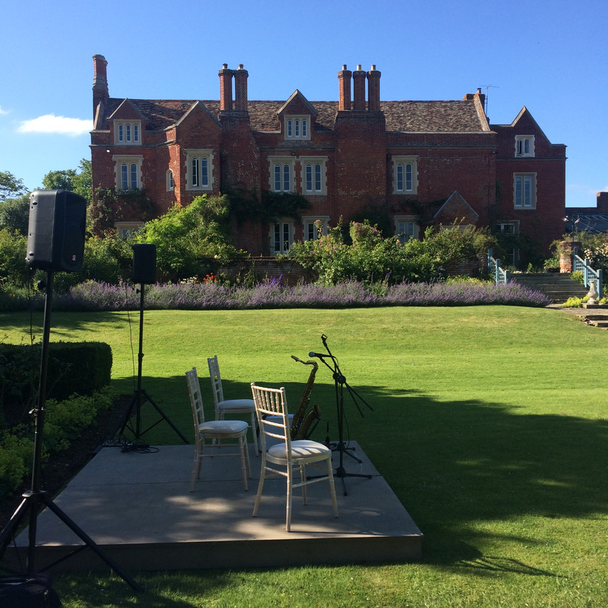 Jonny Hepbir Gypsy Jazz Quintet At Childerley Hall Estates In Cambridgeshire