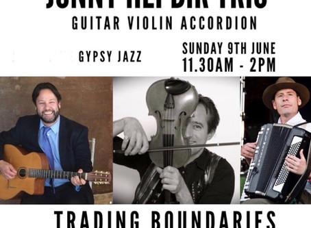 Jonny Hepbir Trio & Quintet Sunday 9th June In Sussex, Metro ViPers On Saturday 8th June In Margate