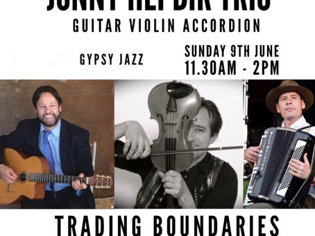 Jonny Hepbir Trio & Quintet Sunday 9th June In Sussex, Metro ViPers On Saturday 8th June In Margate