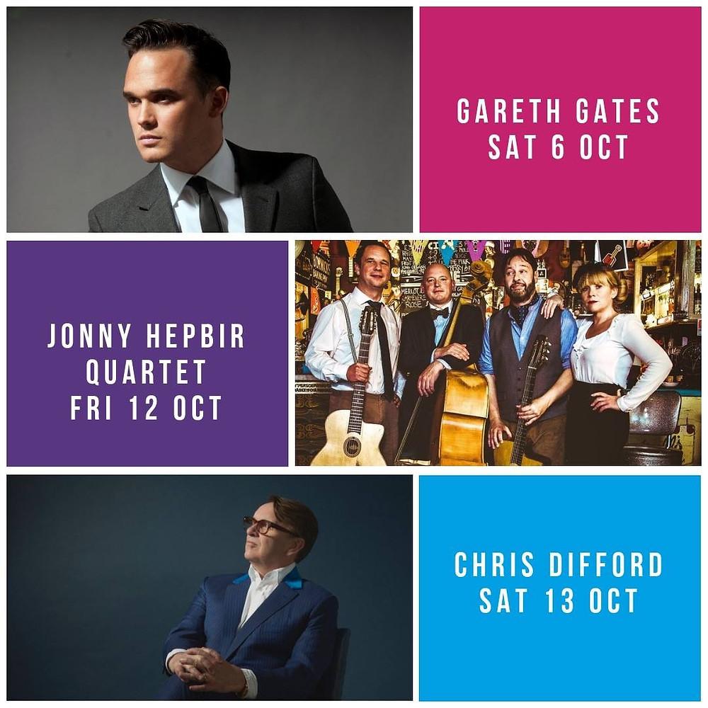 Jonny Hepbir Parisian Swing Quartet At Revelation Ashford In Kent