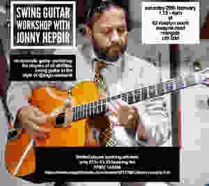 Swing Guitar Workshop With Jonny Hepbir At Rosslyn Court In Margate Kent