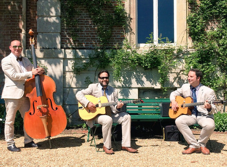 Wedding & Event Music Hire In 2021 | Jonny Hepbir Swing Jazz Trio, Duo & Solo Available In Sussex