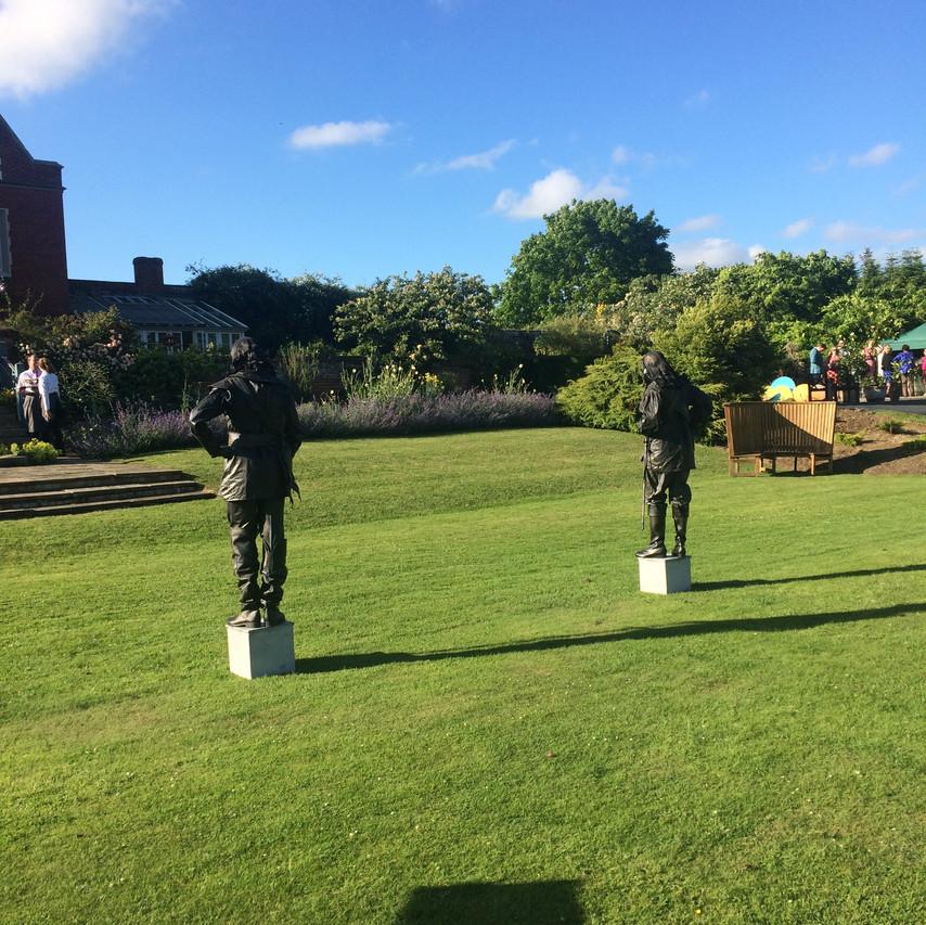 Jonny Hepbir Gypsy Swing Quintet At Childerley Hall Celebration In Cambridgeshire