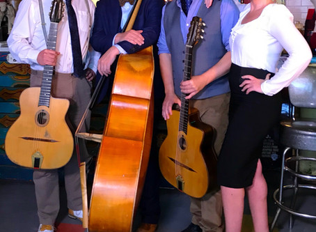 New Year's Eve Band Hire   Jonny Hepbir Vintage Jazz Band
