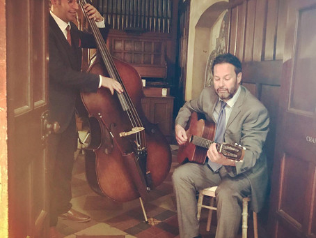 Hire A Jazz Duo In London | Jonny Hepbir Gypsy Jazz Duo