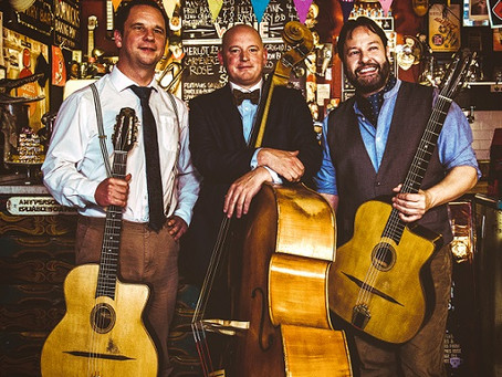 Jonny Hepbir Gypsy Jazz Trio NEW Video'Topsy' Released!