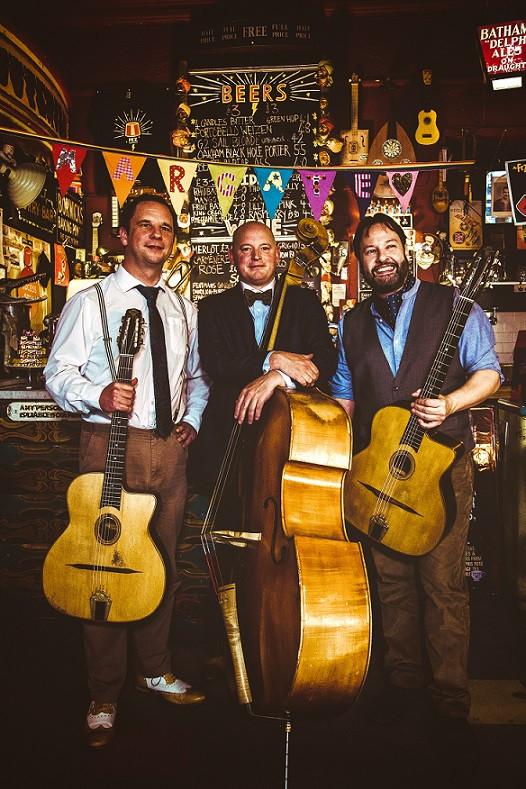 Jonny Hepbir Gypsy Jazz Trio At Swanage Jazz Festival Dorset