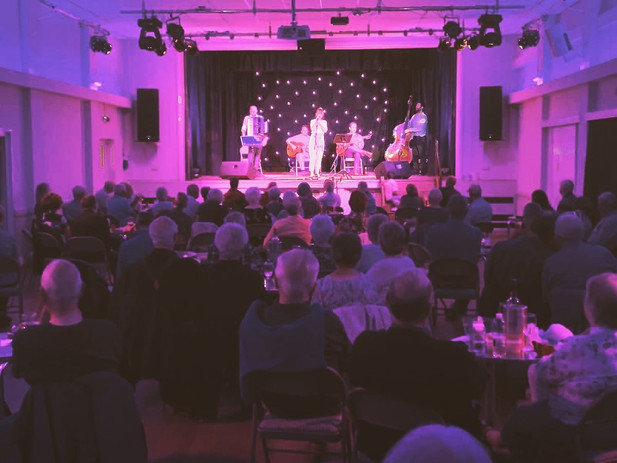 The Jonny Hepbir Quintet Live At Sawbridgeworth Jazz Club   Hire The Band For An Event Or Festival
