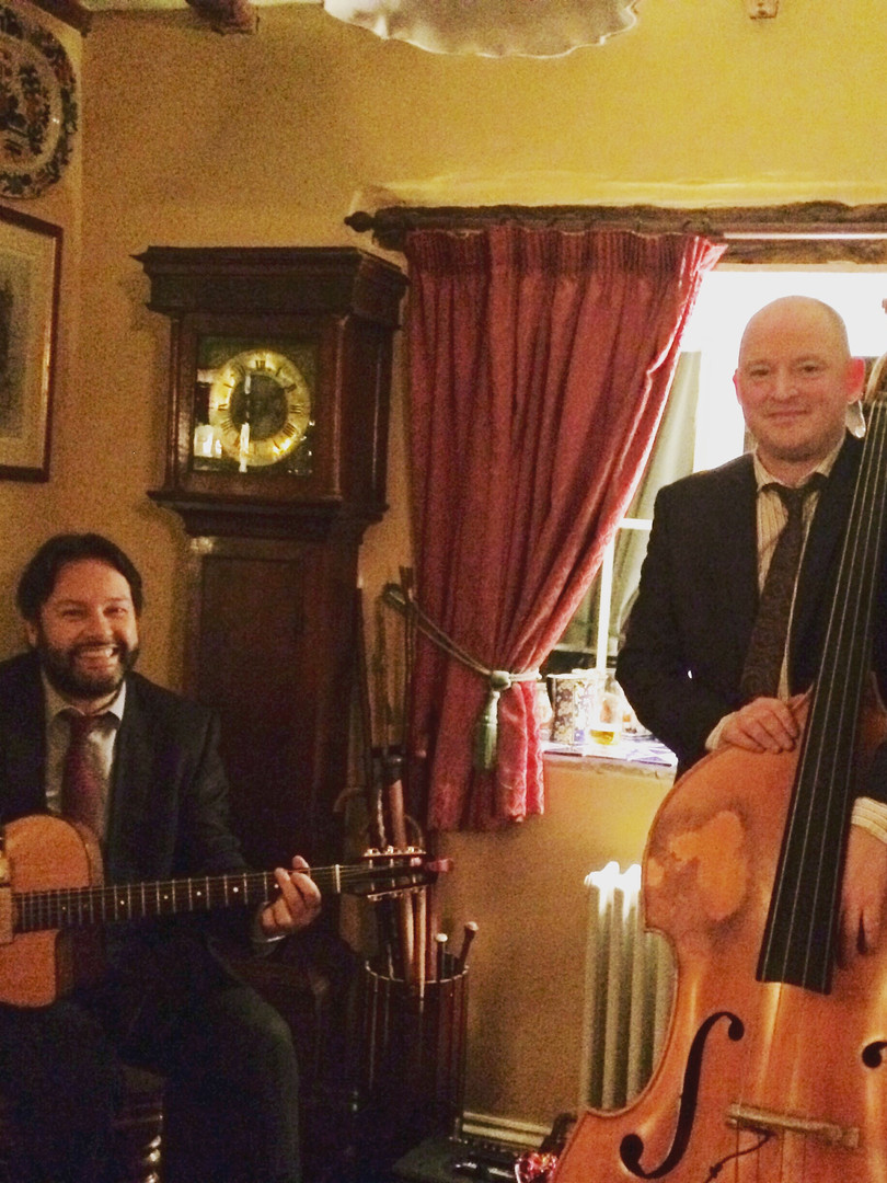 Jonny Hepbir Guitar & Double Bass Duo