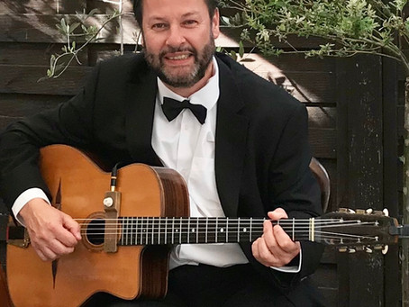Book A Solo Guitarist For A Valentine's Day Event | Gypsy Jazz Band Hire In Kent