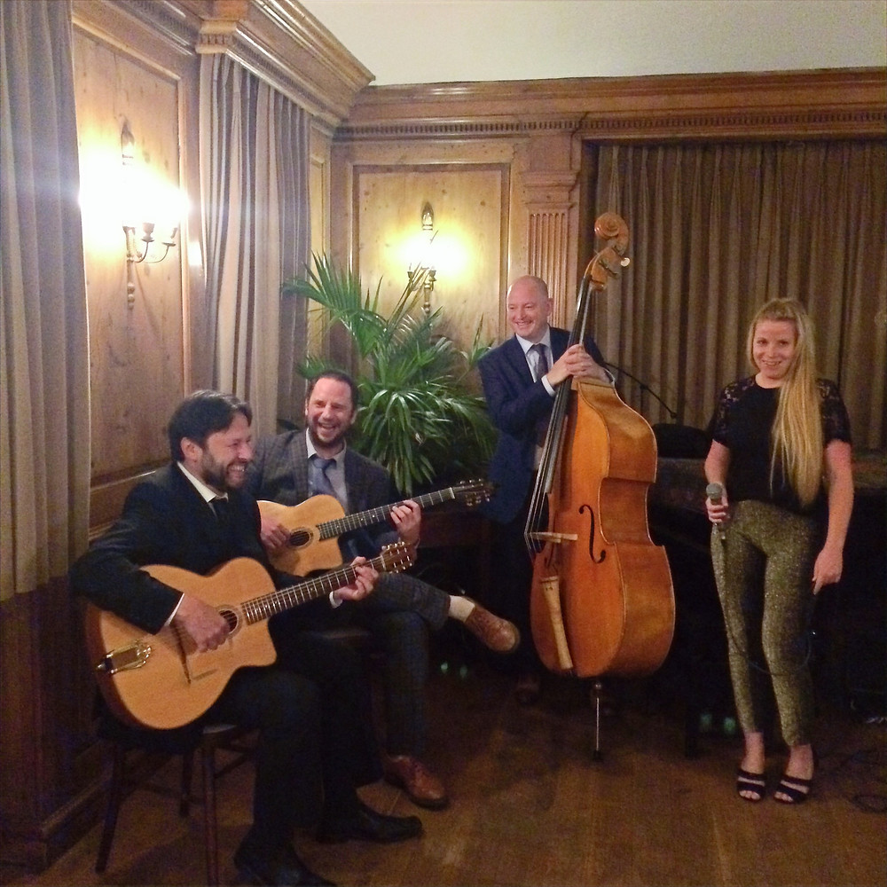 Jonny Hepbir Jazz Quartet at Burgh House & Hampstead Museum in London