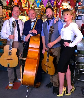 Jonny Hepbir Parisian Swing Quartet At Fez Micropub Margate