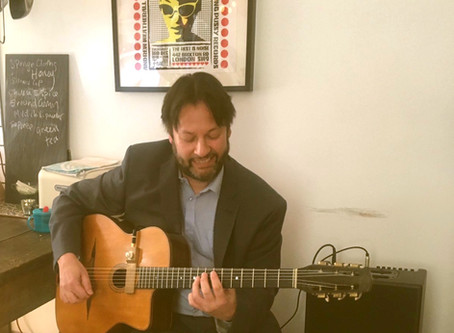 Jonny Hepbir Swinging Solo Gypsy Jazz Guitar At Private Party In Margate Kent